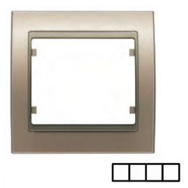 Marco 4 elementos bronce niebla BJC Mega 22004-BN