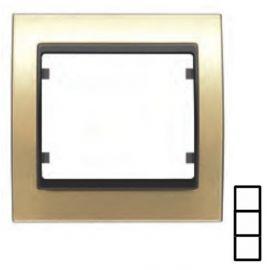 Marco 3 elementos dorado BJC Mega 22103-DG