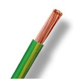 Cable unipolar flexible 16 mm2 amarillo verde H07V-K
