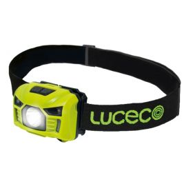 Linterna LED frontal recargable USB con sensor de movimiento 3W 150 Lumens LILH15P65-01