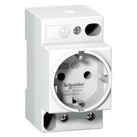 Toma de corriente modular 2P+TT para carril DIN Schneider A9A15310