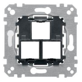 Soporte para 1/2 tomas RJ45/RJ11 Schneider Elegance MTN4575-0000