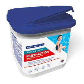 Tratamiento Multiacción para mantenimiento piscinas. 5 Kg AstralPool 34439