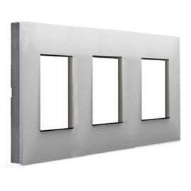 Marco 3 elementos aluminio con lateral fumé Valena Next 741033