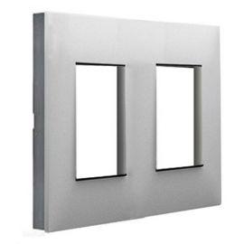 Marco 2 elementos aluminio con lateral fumé Valena Next 741032