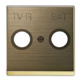 Tapa toma TV-R / SAT oro envejecido Niessen Sky NIES 8550.1 OE