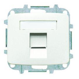 Tapa datos 1 conector blanco alpino Niessen Arco 8218.1 BA
