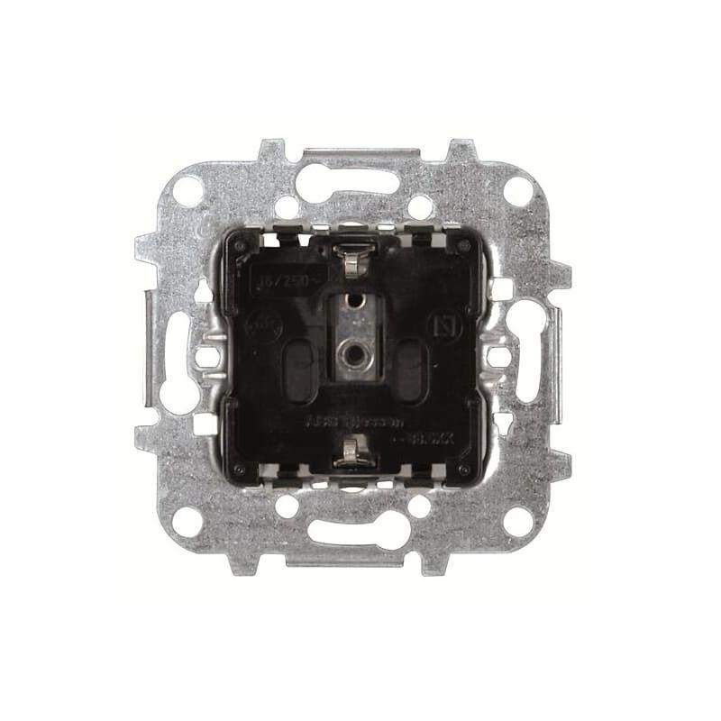 Interruptores y Enchufes por marca ABB NIESSEN Base de enchufe schuko con garras Niessen 8188.5 Sky Olas Arco y Tacto