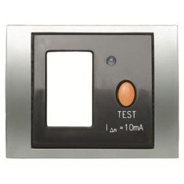 Tapa protección magnetotérmico diferencial titanio Niessen Olas 8434 TT