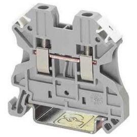 Borna de conexión carril DIN UT 2,5 gris 4 mm² Phoenix Contact 3044076