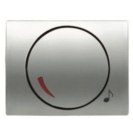 Tapa + botón potenciómetro titanio Niessen Olas 8459 TT