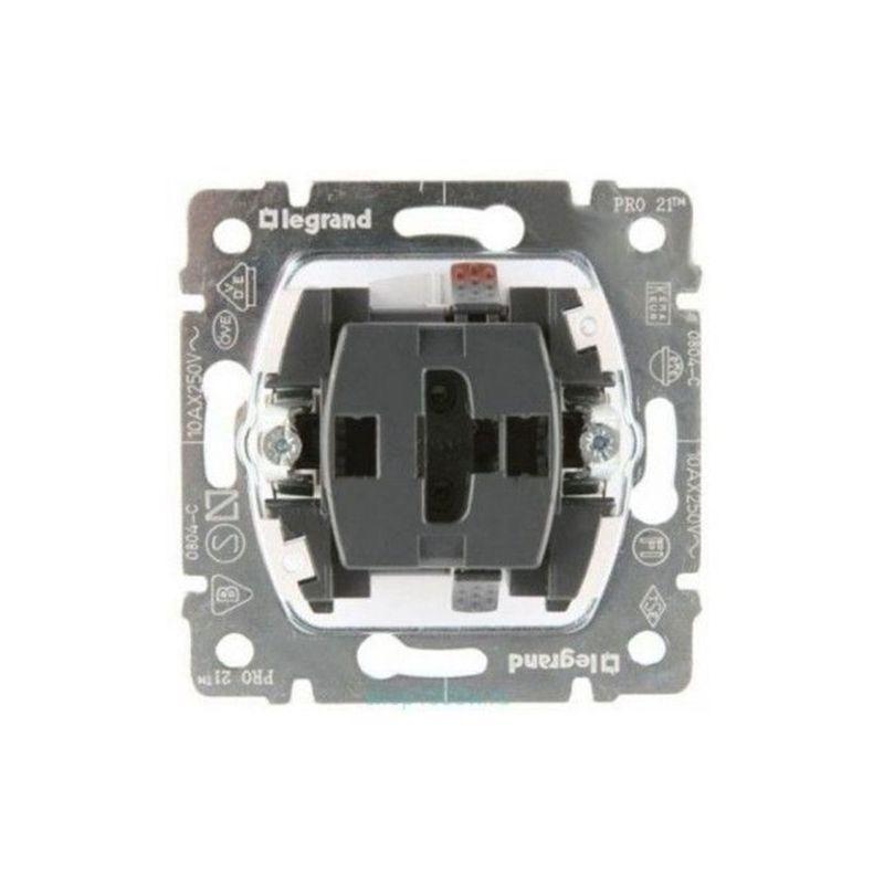 Interruptores y Enchufes por marca LEGRAND Conmutador doble para persianas 10 AX 230v Legrand Galea Life 775804