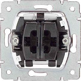 Interruptor doble 10AX 250v Legrand Galea Life 775805