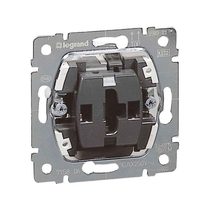 Interruptores y Enchufes por marca LEGRAND Conmutador 10AX 250v Legrand Galea life 775806