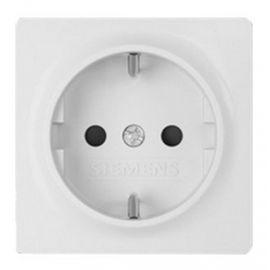Tapa de enchufe blanco polar Siemens Delta Miro 5UH1072-4WH