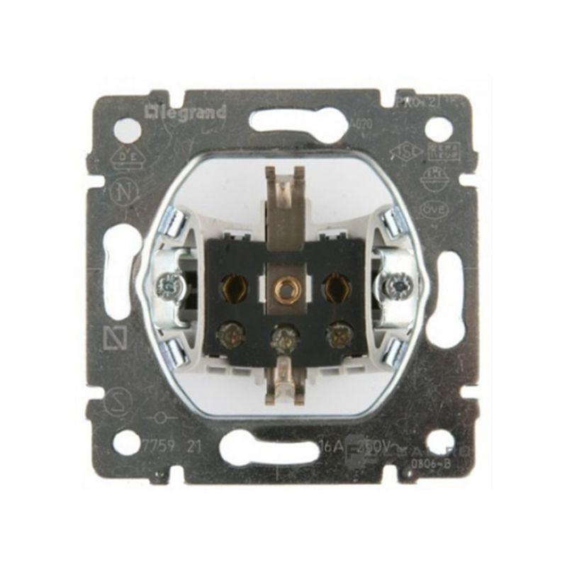 Interruptores y Enchufes por marca LEGRAND Toma enchufe 2P+T 16A 230v Legrand Galea Life 775921