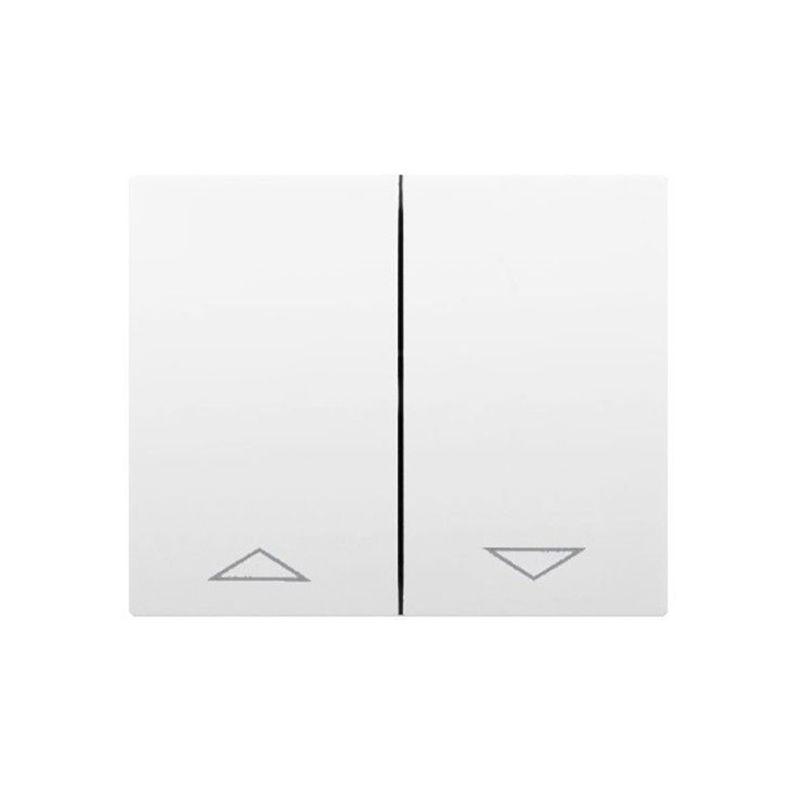 Interruptores y Enchufes por marca LEGRAND Tecla doble interruptor - persiana blanco Legrand Galea Life 777014