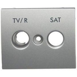 Tapa toma TV/R - SAT aluminio Legrand Galea Life 771380