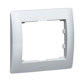 Marco 1 elemento aluminio Legrand Galea Life 771301