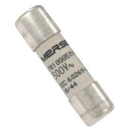 Fusible cilíndrico cerámico 10x38mm 6A sin indicador Mersen K215128J