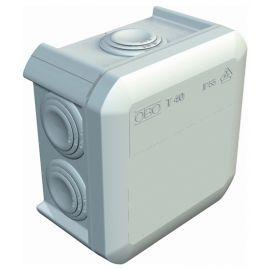 Caja derivación estanca superficie conos 90x90x52 gris Obo Bettermann 2007045