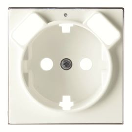 Tapa base enchufe schuko con doble Cargador USB Blanco Niessen Sky 8588.3 BL