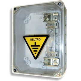 Caja Seccionamiento Tierra 2 Salida Tapa Transparente CST-CS Pronutec 433211201