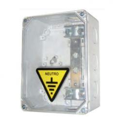 Caja Seccionamiento Tierra 1 Salida Tapa Transparente CST-CS Pronutec 433111201