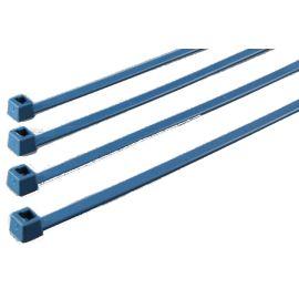 Bolsa 100 bridas Recuperable para la industria alimenticia detectables 250x4,5mm azul HellermannTyto