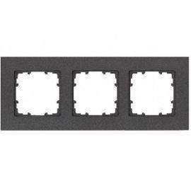 Marco de 3 elementos carbono metalizado Siemens Delta Miro 5TG1113-2