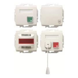 Kit de señalización y llamada WC alarma Niessen Arco 8284 BA