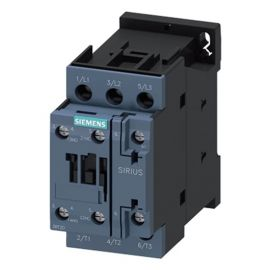 Contactor Siemens 15KW 3P 400V 1NA+1NC Bobina 230V Sirius 3RT2027-1AL20