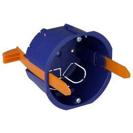 Caja universal empotrar mecanismos en tabique hueco fijación con bridas Solera 5625GW