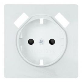 Tapa de enchufe blanco polar doble USB Siemens Delta Style 5UH1272-4WH30