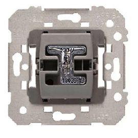 Pulsador-interruptor temporizado con difusor luminoso BJC Iris 18599