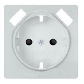 Tapa de enchufe blanco polar doble USB Siemens Delta Miro 5UH1072-4WH30