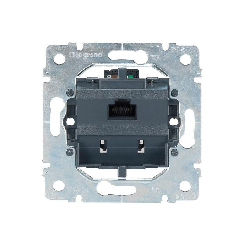 Interruptores y Enchufes por marca LEGRAND Toma RJ12 de 1 conector 6 cont. Legrand Galea Life 775995