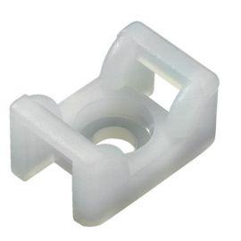 Base de fijación por tornillo para bridas - 100 uds. hellermanntyton 151-24619