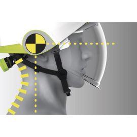Casco de seguridad dieléctrico con visera retráctil Deltaplus ONYX.