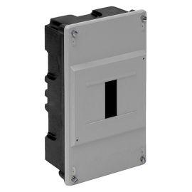 Caja de empotrar para ICP 4 elementos gris Solera