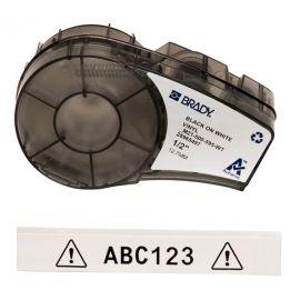 Cartucho etiquetas blancas de 12,7 mm de ancho y 6,4m de longitud Brady M21-500-595-WT