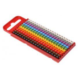 Señalizadores de cable impresos WIC1 2-2,8mm números de 0-9 200 uds. 561-01100