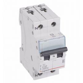 Interruptor Automático Magnetotérmico 1P+N 32A TX3 Legrand 403589