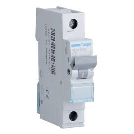 Interruptor Automático Magnetotérmico 1P 10A MU Hager MUN110A