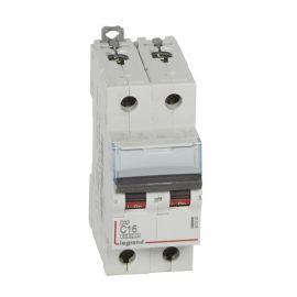 Interruptor Magnetotérmico 2P 16A DX3 6/10KA Curva C Legrand 407800