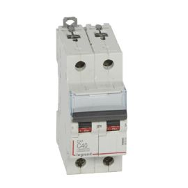 Interruptor Magnetotérmico 2P 40A DX3 6/10KA Curva C Legrand 407804