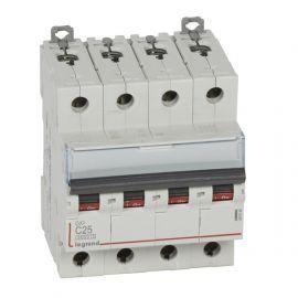 Interruptor Magnetotérmico 4P 25A DX3 6/10KA Curva C Legrand 407930