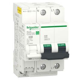 Protección sobretensiones transitorias y permanentes R9L20640 1P+N 40A Resi9 Combi SPU Schneider