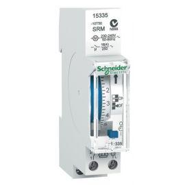 Interruptor horario analógico 24h sin reserva Schneider 15335