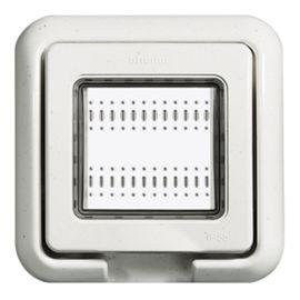 Tapa de empotrar estanca Idrobox para mecanismos Livinglight 24602N